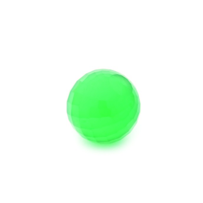 Enchantables Faceted Agate (Green)