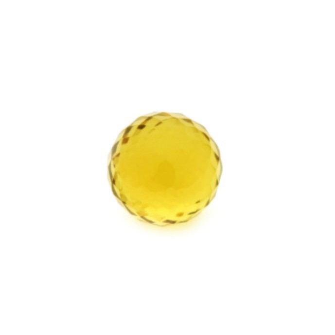 Enchantables Faceted Citrine (Yellow)