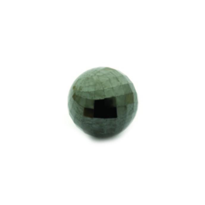 Enchantables Faceted Hematite (Silver-Grey)