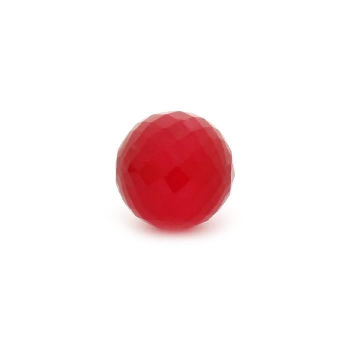Enchantables Faceted Quartz (Raspberry Red)