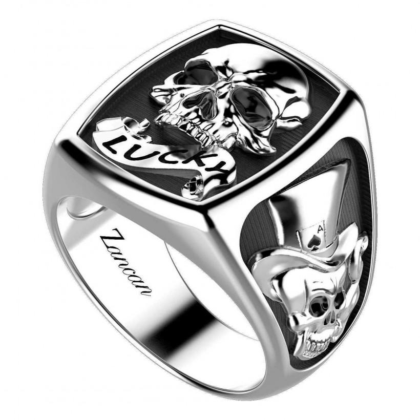 Zancan Silver Ring EXA137