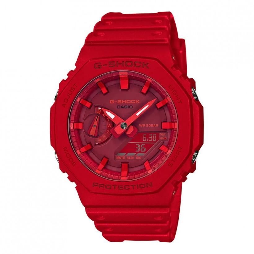 G-SHOCK Analog-Digital Red GA2100-4A Men's Watch