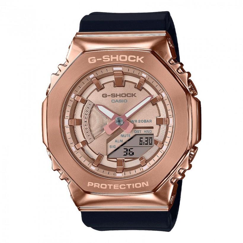 G-SHOCK GMS2100PG-1A4 Rose Metal-clad Women's Watch Black