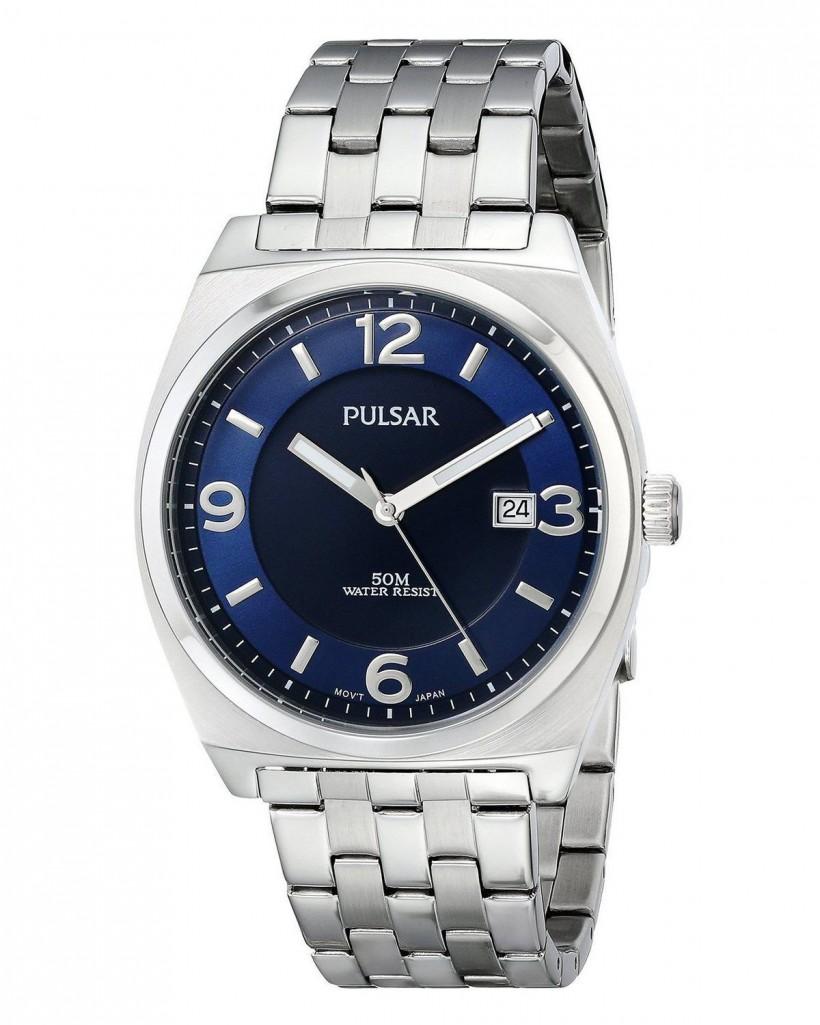 Pulsar Quartz Blue Dial Men's Watch