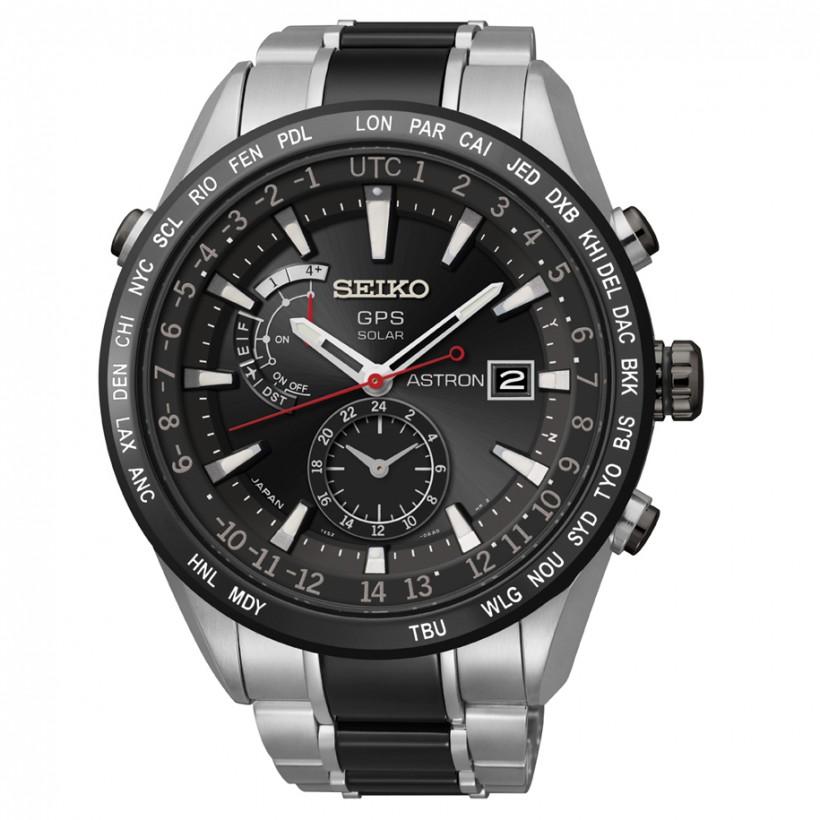 Seiko Astron 7x GPS Solar Titanium & Ceramic Men's Watch