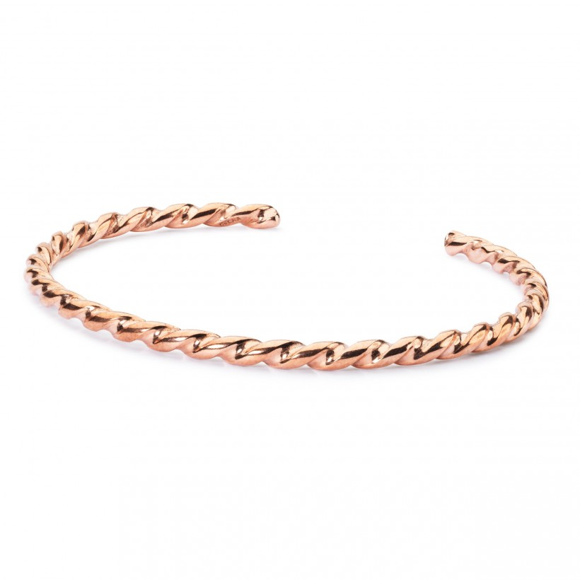 Twisted Copper Bangle S