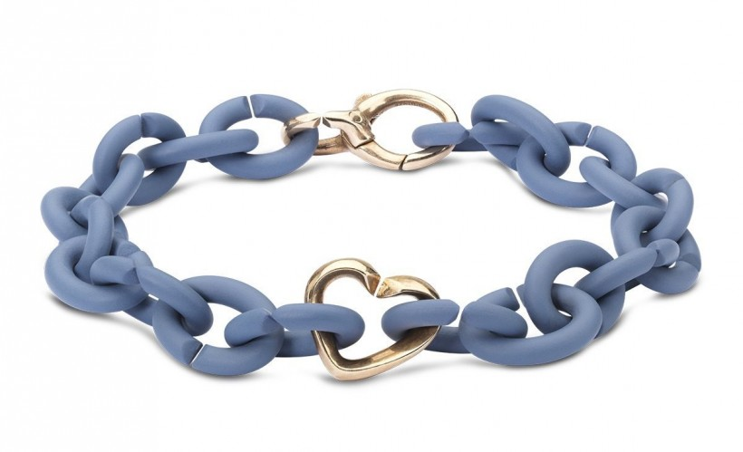 Denim Bronze Bracelet