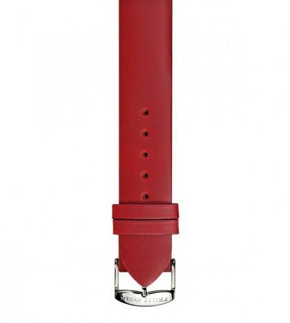 Dark Red Italian Calf Leather Strap
