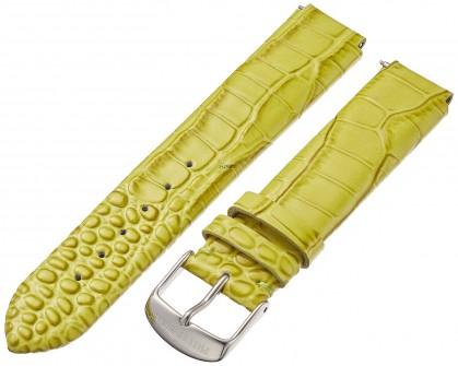 Philip Stein Leather Calfskin Green Teju Watch Strap