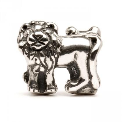 Trollbeads Lions Bead Silver