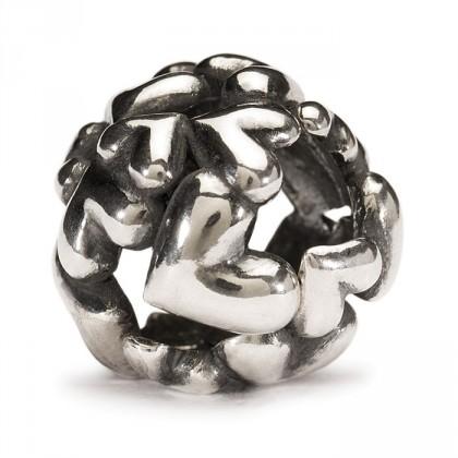 Heart Ball Bead