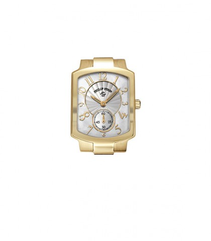 Philip Stein Classic Gold Plated Square Women's Watch