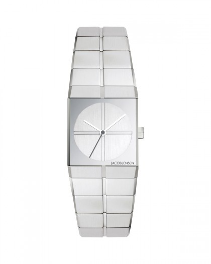 Jacob Jensen Icon Stainless Steel Silver Dial Women's Watch