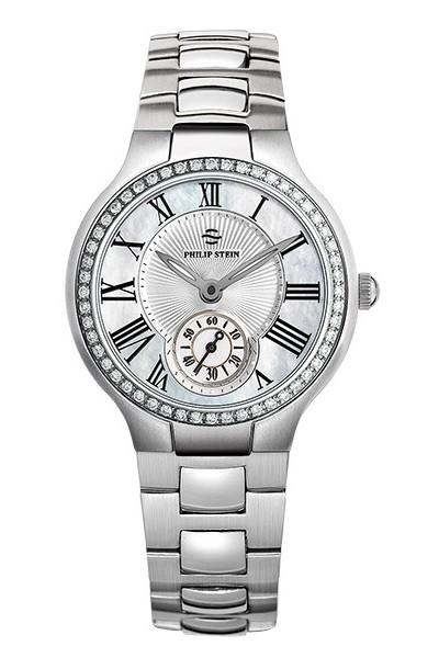 Philip Stein Diamond Classic Round Small 0.78CTW Women's Watch