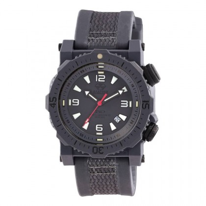 Reactor Titan Nitromid Polymer With Stealth Gray Band & Dial Never Dark 43810
