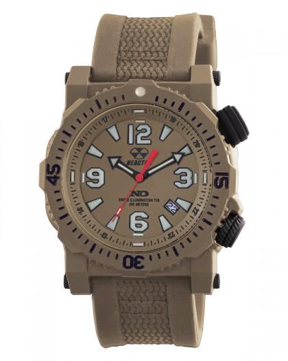 Reactor Titan Brown Men's Watch