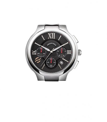 Philip Stein Classic Round Chronograph Black Dial Men's Watch
