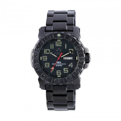 Reactor Trident 2 Black & Stainless Watch
