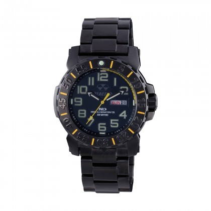 Reactor Trident 2 Yellow & Black Plated Watch