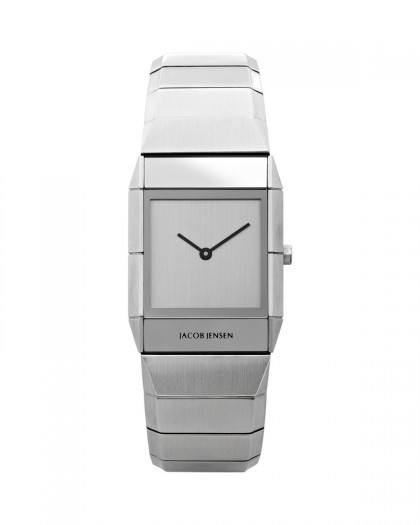 Jacob Jensen Sapphire Stainless Steel Silver Dial Women's Watch