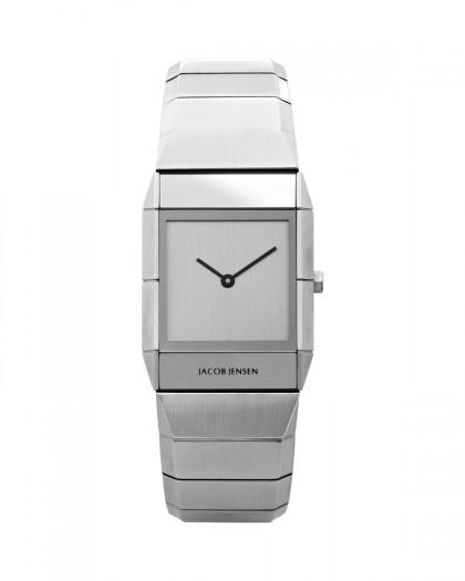 Jacob Jensen Sapphire Stainless Steel Silver Dial Women's Watch