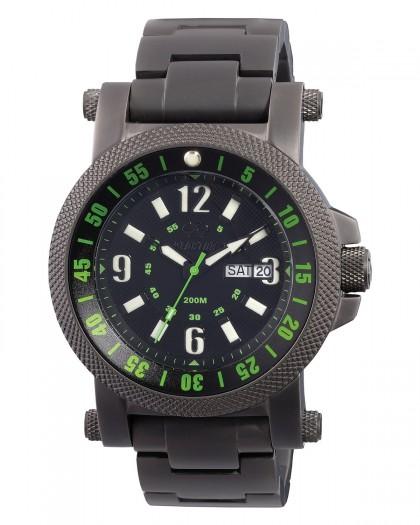 Reactor Fallout 2 Black Green Men's Watch