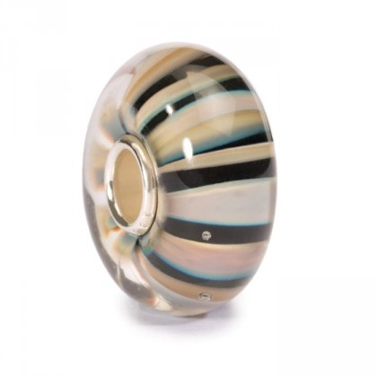 Trollbeads Khaki Stripe Bead