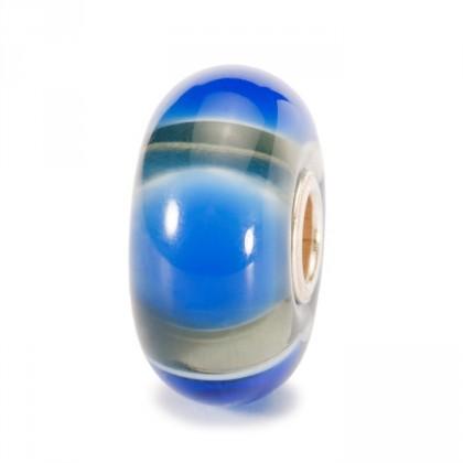 Blue Symmetry Bead