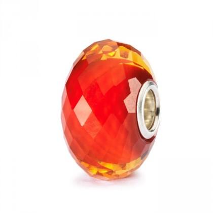 Trollbeads Saffron Facet Bead