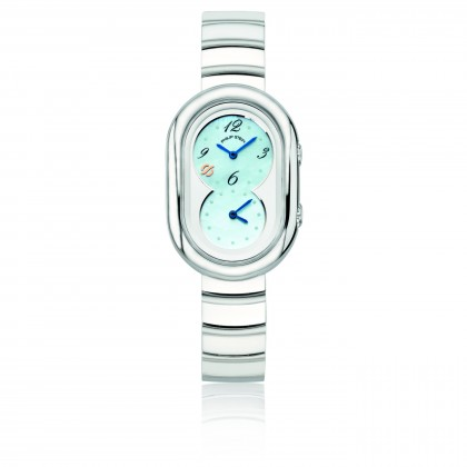 Philip Stein Legacy Petite Blue Dial Watch