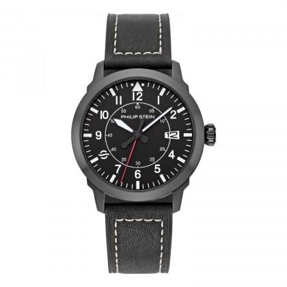 Philip Stein Black Sky Finder Men's Watch  700B-PLTBK-CSWB