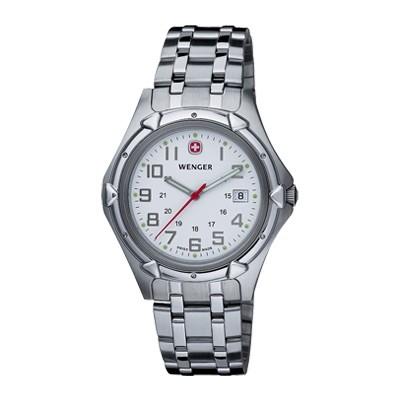 Wenger Standard Issue XL White Dial Bracelet