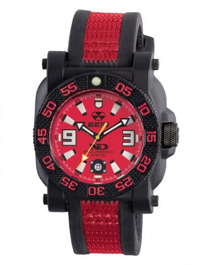 Reactor Gryphon Resin Red Men's Watch