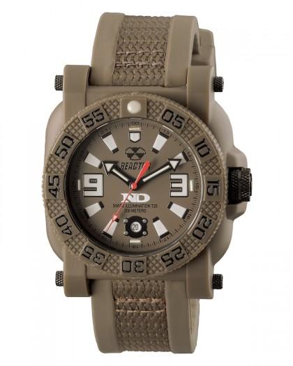 Reactor Gryphon Resin Brown Men's Watch