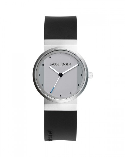 Jacob Jensen New Series Stainless Steel Silver Dial Women's Watch