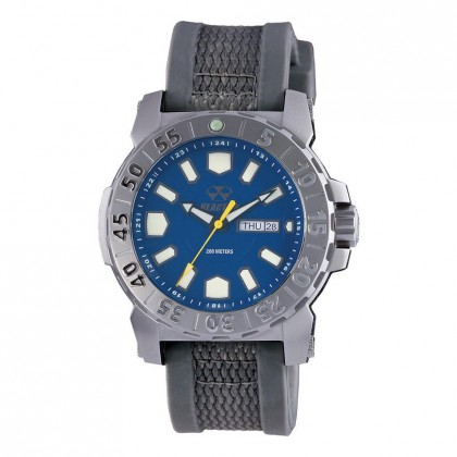 Reactor Meltdown 2 Stealth Gray Gryphon Strap Navy Dial 76803