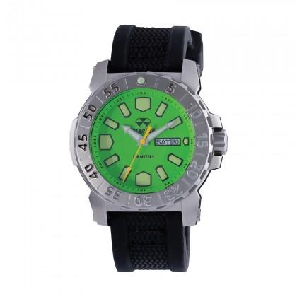Reactor Meltdown 2 Acid Green  Gryphon Strap Watch