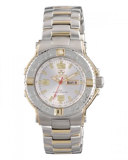 Reactor Critical Mass Silver Gold Silver Women's Watch