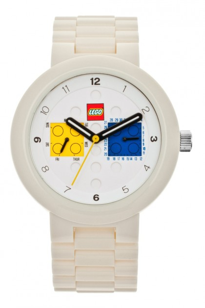 Lego Two by Two White Adult Watch