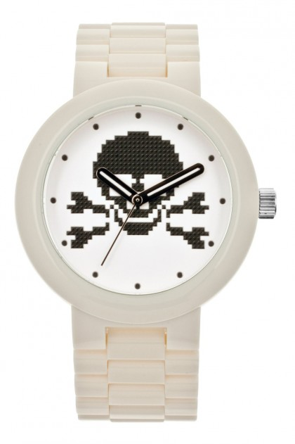 Lego Skull White Adult Watch