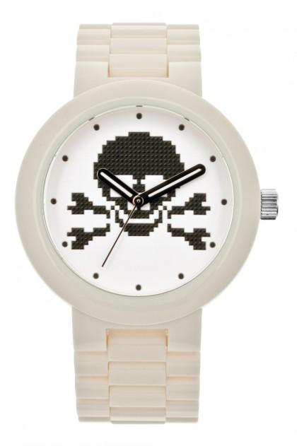 Lego Skull White Adult Watch