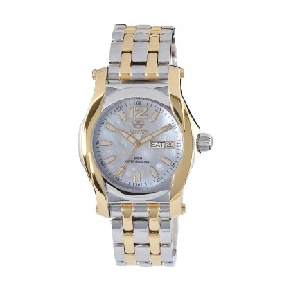 Reactor Curie Ladies White MOP 2-tone Watch