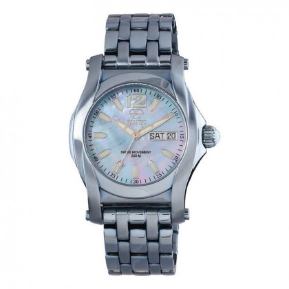 Reactor Curie Mid Day/Date Ice Blue Plated Ice Blue MOP Dial 90503