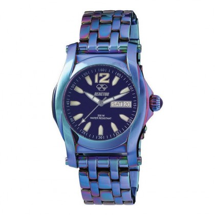 Reactor Curie Mid Day/Date Ionized Plated Eggplant Dial 90999