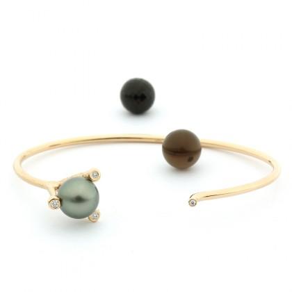 Enchantables Gold 0.07 CTW Bracelet