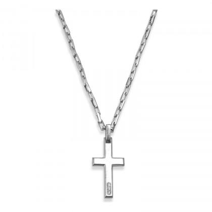 Borsari 925 Silver Necklace CL-TOR01CR3B