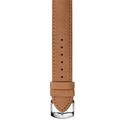 Philip Stein Calfskin Country-Sueded Camel Band