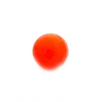 Enchantables Faceted Carnelian (Orange)