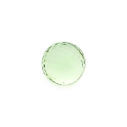 Enchantables Faceted Prasiolite (Light Green)