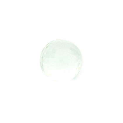 Enchantables Faceted Rock Crystal (Clear)